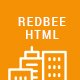 Redbee | Construction HTML Template - ThemeForest Item for Sale