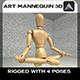 Mannequin 3D - 3DOcean Item for Sale