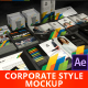 Presentation of Corporate Style - Mockup - VideoHive Item for Sale