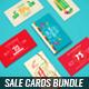 Spring Sales Cards Bundle - GraphicRiver Item for Sale