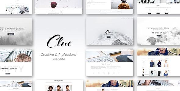 Clue – Creative Multiuse HTML Template