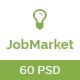 JobMarket - Job Portal PSD Template (Multipurpose) - ThemeForest Item for Sale