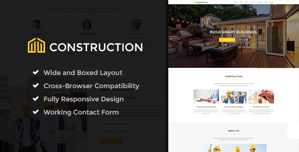 Construction - Ultimate Construction Company Template