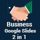 Business 2 in 1 Google Slides Template Bundle - GraphicRiver Item for Sale