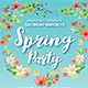 Super Spring Party Flyer Template - GraphicRiver Item for Sale