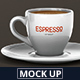 Espresso Cup Mockup - GraphicRiver Item for Sale