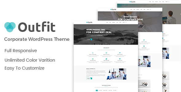 Outfit – Business, Consultancy Corporate WordPress Theme 4