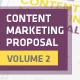 Content Marketing Proposal V2 - GraphicRiver Item for Sale