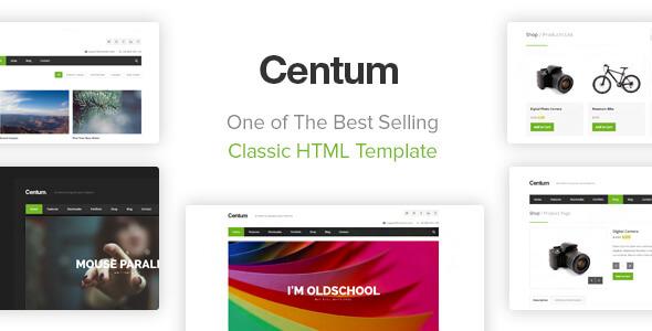 Centum - responsywny szablon HTML