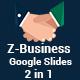 Z-Business 2 in 1 Google Slides Template Bundle - GraphicRiver Item for Sale