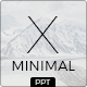 Minimal X Powerpoint Template - GraphicRiver Item for Sale