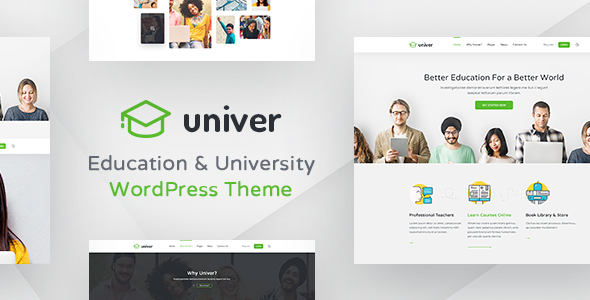 University WordPress Theme - Univer