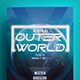Outer World Party Flyer Template - GraphicRiver Item for Sale