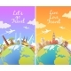 Travel the World - GraphicRiver Item for Sale