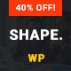 Shape - Business, Consultation & Finance WordPress Theme - ThemeForest Item for Sale