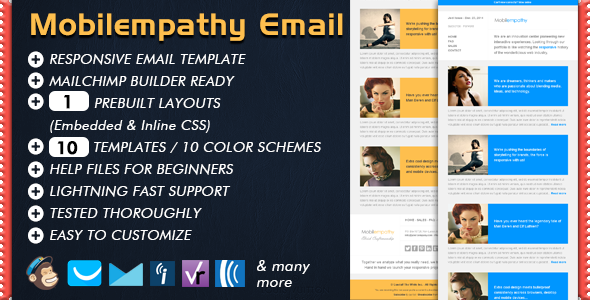 Mobilempathy - Responsive Email Template