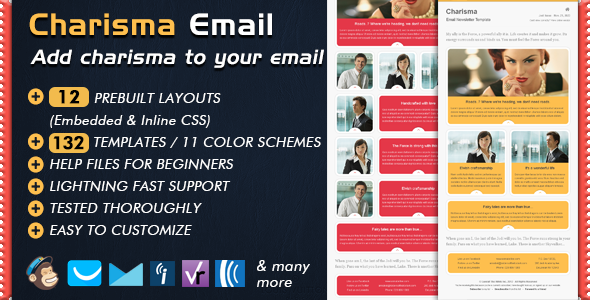 Email Template - CHARISMA