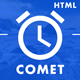 Comet - Beautiful Creative Template for Coming Soon Page - ThemeForest Item for Sale