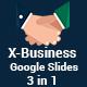 X-Business 3 in 1 Google Slides Template Bundle - GraphicRiver Item for Sale