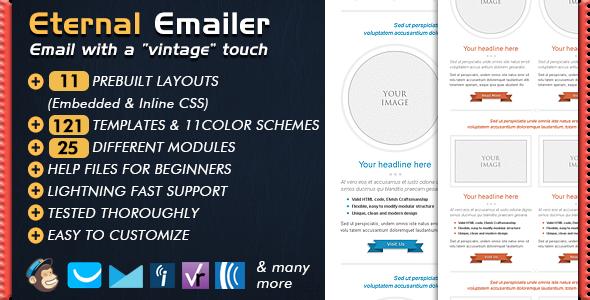 Email Template - ETERNAL Newsletter