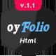 oyFolio - Responsive HTML Portfolio Template - ThemeForest Item for Sale