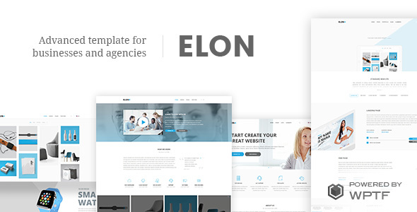 Elon - Web And Agency Theme