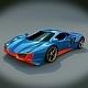 Taronox sports car concept - 3DOcean Item for Sale