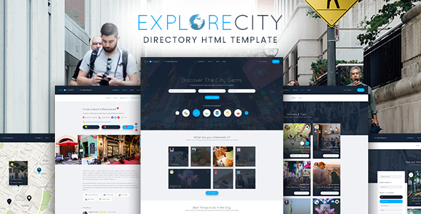 Explore City - Directory Listing Template