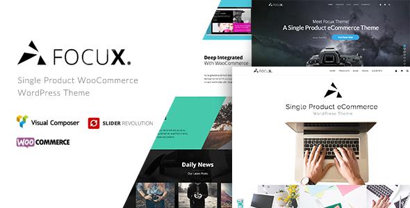 Focux - Multi-Purpose Single Product WooCommerce WordPress Theme