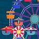 Amusement Park Banner Set - GraphicRiver Item for Sale