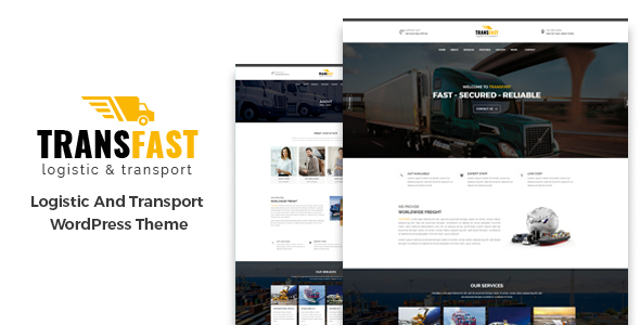 Transfast - Logistic and Transport - WordPress Theme