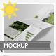 A4 Tri-Fold Brochure Mock-up - GraphicRiver Item for Sale