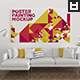 Poster Painting Mockup Vol. 8 - GraphicRiver Item for Sale