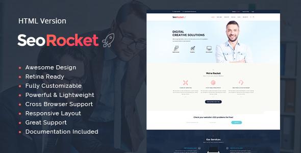 Seo Rocket | Advertising & Marketing Site Template