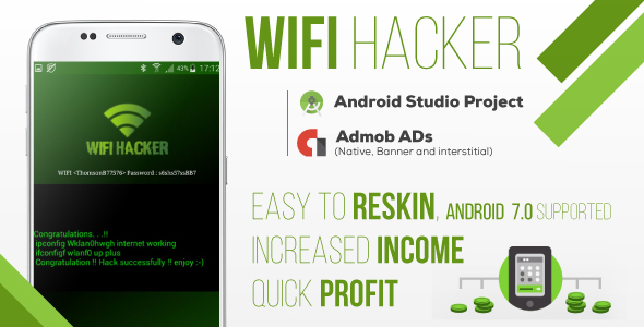 Make A Hacking App With Mobile App Templates from CodeCanyon