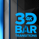 3D Bar Transitions 4K [Horizontal] - VideoHive Item for Sale