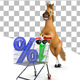 Horse with Trolley and Percent - GraphicRiver Item for Sale