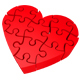 Heart Jigsaw - GraphicRiver Item for Sale