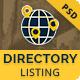 Viavi Directory Listing PSD Template - ThemeForest Item for Sale