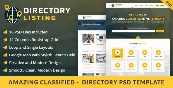 Viavi Directory Listing PSD Template