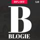 Blogie - Minimalist WordPress Blog theme - ThemeForest Item for Sale