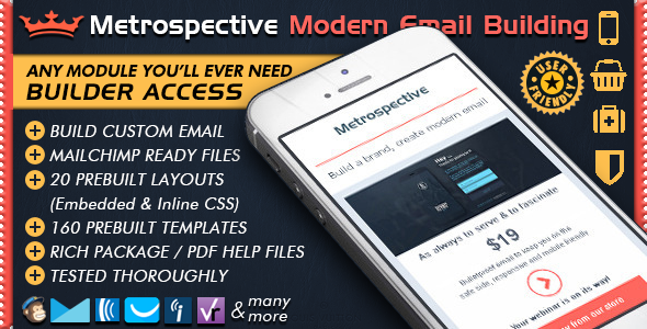 Email Template Builder - METROSPECTIVE Newsletter