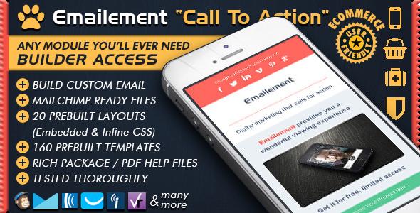 EMAILEMENT - Responsive Newsletter Builder Templates