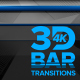 3D Bar Transitions 4K [Vertical] - VideoHive Item for Sale