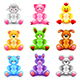 Soft Toys Icons Vector Set - GraphicRiver Item for Sale