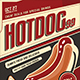 Hotdog Flyer Template - GraphicRiver Item for Sale