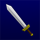 Lowpoly Sword - 3DOcean Item for Sale