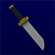 Lowpoly Dagger - 3DOcean Item for Sale