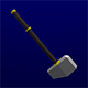 Lowpoly Hammer - 3DOcean Item for Sale