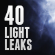 40 Light Leaks, Flares & Glass Effects - GraphicRiver Item for Sale